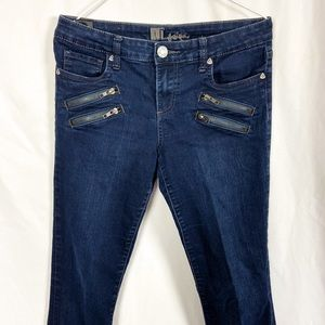 Kut from the Kloth zipper detail skinny jeans 6